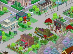 Springfield Tapped Out, City Photo, Ideas, The Simpsons, Thoughts