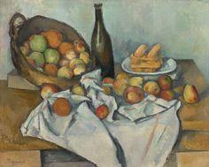 Paul Cézanne. The Basket of Apples, 1893.  Helen Birch Bartlett Memorial Collection.