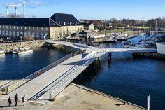 Brücke von Dietmar Feichtinger / Drei Flügel in Kopenhagen - Architektur und Architekten - News / Meldungen / Nachrichten - BauNetz.de