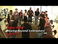 ▶ Team Building Icebreakers Activity - Name Wave - YouTube