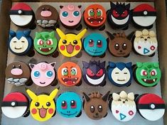 by clvmoore on DeviantArt Pokemon Cake! by clvmoore on DeviantArt Pokemon Themed Party, Pokemon Birthday Cake, Birthday Cupcakes, 7th Birthday, Pokemon Cupcakes Toppers, Fondant Cupcake Toppers, Pokemon Cakes, Pokemon Pokemon, Gamer Wedding Cake