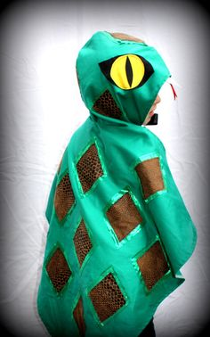 snake costume cape   - girl boy costume - fancy dress - halloween - party - kids on Etsy, $60.00 AUD
