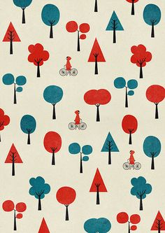 little red cap print by blancucha, via Flickr