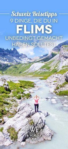 Schweiz Tipps: 9 total geniale Aktivitäten, die du in Flims in Graubünden gemacht haben musst!