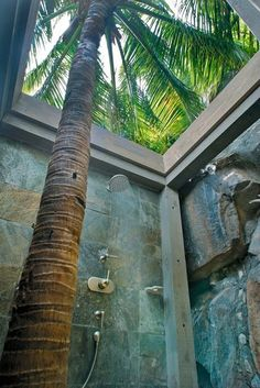 Another outdoor shower idea