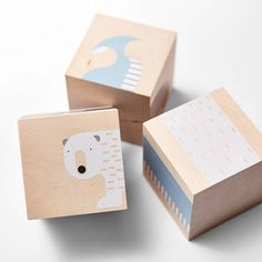 COLD LOVER  wooden blocks baby blocks montessori toys