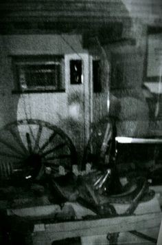 Photo of a ghost soldier inside the Crooked Creek Civil War Museum, Vinemont Al