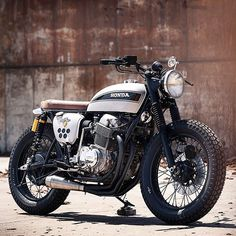 Clean, simple Brat-style customs, we never tire of seeing a well built one like…