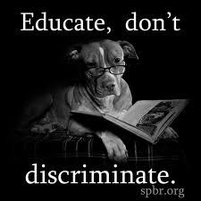 AMEN!!!  As someone who has handled pits personally, it's most definitely the people behind the dog...NOT the breed itself.