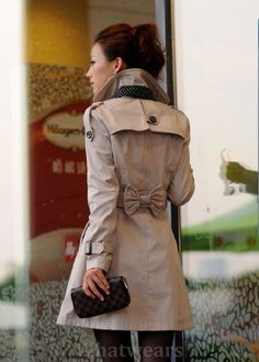 This trench coat will have to do before I can even think about having a Burberry one