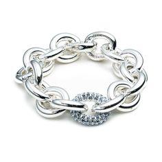 ONE PAVÉ CHAIN LINK BRACELET   Eddie Borgo Eddie Borgo, Plait, Little Things, Bling Bling, Jewelry Box, Gems, Women's Fashion, Jewels, Link
