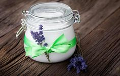DIY Lavender Body Butter (Eczema Lotion) body butter recipe with lavender feature Coconut Oil Body Scrub, Coconut Oil Lotion, Coconut Oil Uses, Whipped Body Butter, Coconut Sugar, Raw Organic Coconut Oil, Diy Natural Deodorant, Homemade Deodorant, Homemade Shaving Cream