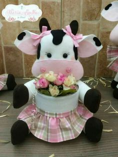 Sewing Crafts, Sewing Projects, Projects To Try, Crafts To Sell, Diy And Crafts, Felt Crafts, Paper Crafts, Cow Craft, Cow Decor