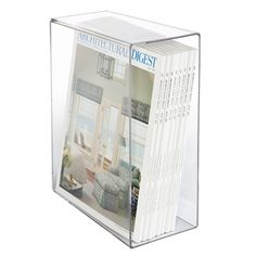 Acrylic Magazine Slipcase | The Container Store