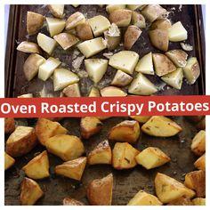 Crispy Roast Potatoes, Baking, Dinner, Recipes, Dining, Bakken, Food Dinners, Recipies, Bread