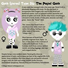 Goth Type 24: The Pastel Goth by Trellia.deviantart.com on @deviantART