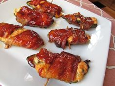 BBQ Bacon Jalapeno Poppers