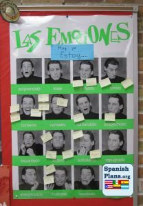 pictures of teachers around the school making these faces - great bulletin board idea