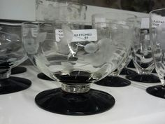 More Black and Crystal @ P & J Antiques.