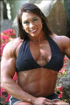 Pity, that Long haired female body builder join