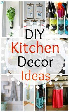 DIY Kitchen Decor Ideas to brighten your kitchen