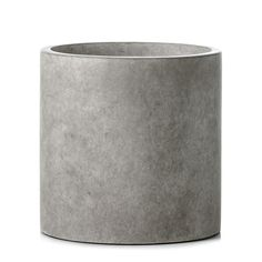 In a raw concrete look design, this pot is the ideal place to house a plant or succulent.