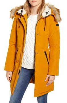 Find Sam Edelman Faux Fur Trim Down Parka online. Shop the latest collection of Sam Edelman Faux Fur Trim Down Parka from the popular stores - all in one Coats For Women, Clothes For Women, Nordstrom, Down Parka, Fall Trends, Fall Winter Outfits, Fur Trim, Winter Coat, Faux Fur