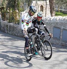 Peter Sagan, Cesare Benedetti MSR 2017 photo credit Sara Cavallini photo