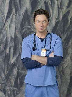 Zach Braff (Dr. John Dorian)