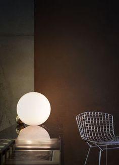 FLOS   Copycat LED Table lamp - Ø 30 cm Copper