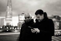 London, UK, 2014.  #street #photography #street #blackandwhite #black #white #bnw #bw #capture #fashion #london #straße #strasse #straßenfotografie #london #city #cities #cityscape #england #uk #road #travel #art #etsy #society6 #sepia #canon #50mm #canoneos600d #urban #millennium #bridge #london