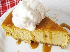 Pumpkin Spice Cheesecake | FaveHealthyRecipes.com