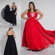 Spaghetti Straps Crystal Plus Size Evening Dress Chiffon Prom Dress Ball  Gown Discount Plus Size Prom Dresses Gowns For Special Occasions From  Missudress 6c7b3b7a7