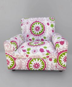 Take a look at this Pink Circle Armchair  by Funky Kids by Mauricio's Furniture on #zulily today!