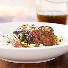 Pressure-Cooker Asian-Style Boneless Beef Short Ribs  from @America's Test Kitchen