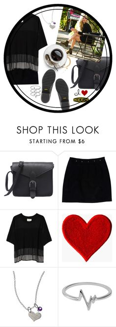 """So Fresh and So Keen: Wearing My Keens to Coffee"" by maddophelia ❤ liked on Polyvore featuring Loeffler Randall, Public School, Zina Kao Exclusives, Jewel Exclusive, Keen Footwear and keen"