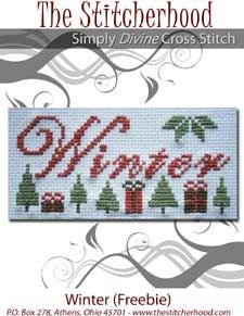 The Stitcherhood seasons freebies can be found at http://www.thestitcherhood.com/freebies.php