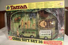 Corgi GS 36 Tarzan Jungle Set