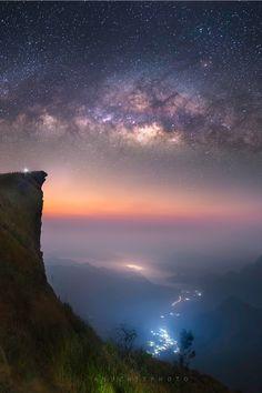 #Milkyway over #Thailand by Anuchit