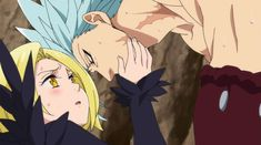 Seven Deadly Sins Anime, 7 Deadly Sins, Ban E Elaine, Seven Deady Sins, Cartoon Profile Pics, Anime Angel, Anime Fantasy, Me Me Me Anime, Anime Couples