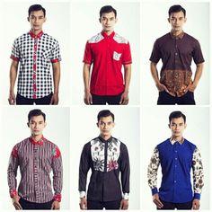 Mavazi Javanese Batik for men spring summer 2015 African Men Fashion, Fashion Men, Summer 2015, Spring Summer, Batik Fashion, Men Shirts, Couture, Ikat, All In One