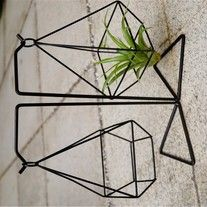This+Triangle+Hanging++do+not+include+Airplant.+ Materials:+Iron Color:+Black Design:+Geometric+ Shape:+Triangle Pls+be+a+patient,+.
