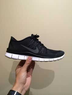 baa48c973492b7 8 Best Shoes images   Nike shoes, Black running shoes, Black sneakers