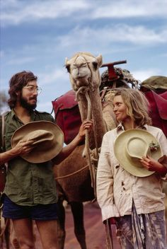 Rick Smolan and Robyn Davidson.