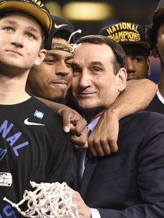 USP NCAA BASKETBALL: FINAL FOUR-CHAMPIONSHIP GAME (2015)- S BKC USA IN Congratulations Coach K!!