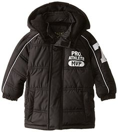 IXtreme Babys Mvp Puffer Black 12 Months * You can find more details by visiting the image link. Baby Boy Jackets, Winter Kids, Puffer Jackets, Kids Wear, Rain Jacket, Babe, Windbreaker, Baby Boys, Coats