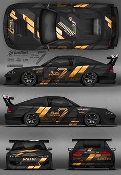Pin by on racing car design, futuristic cars, sport cars. Car Stickers, Car Decals, Sport Cars, Race Cars, Racing Car Design, Nissan Silvia, Drifting Cars, Tuner Cars, Futuristic Cars
