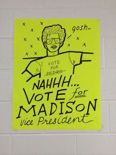 Student council poster idea! So cute and creative! | Kids ...