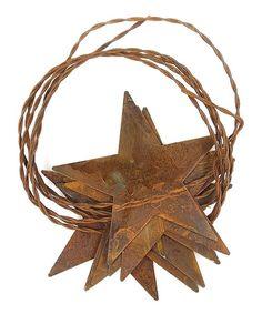 LCI Barn Lantern Tree Topper Rustic Country Christmas Decor