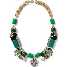 Sabine Green With Envy Statement Necklace